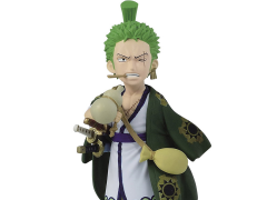 One Piece World Collectable Figure Wano Country Zoro Roronoa Figure