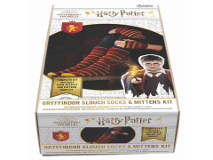 Harry Potter Gryffindor Fingerless Mittens & Slouch Socks Knitting Kit