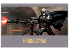 Stars Wars Mandalorian Fire Limited Edition Lithograph