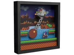 Sonic the Hedgehog Wrecking Ball Pixel Frame (9x9)