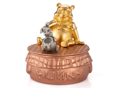 Winnie the Pooh Pewter Collectible Musical Carousel