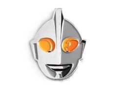 Ultraman Helmet Pin