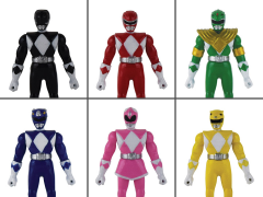 Mighty Morphin Power Rangers World's Smallest Set of 6 Micro Action Figures