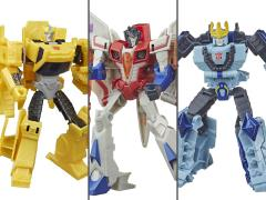 Transformers: Cyberverse Warrior Wave 7 Set of 3 Figures