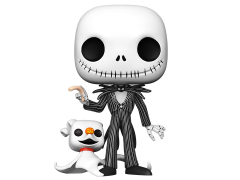 "Pop! Disney: The Nightmare Before Christmas - 10"" Jack with Zero"
