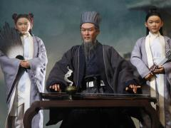 Soul Of Three Kingdoms Stratagems Zhuge Liang (Older Ver.) & War Wagon 1/6 Scale Deluxe Figure Set