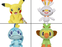 Pokemon Galar Region 8-Inch Plush Set of 4