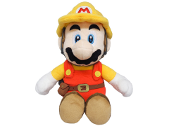 "Super Mario Builder Mario 10"" Plush"