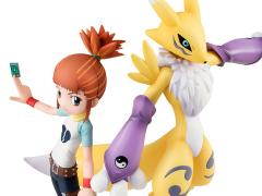 Digimon Tamers G.E.M. Series Ruki & Renamon
