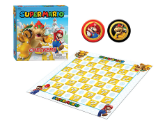 Super Mario Checkers & Tic Tac Toe: Super Mario vs Bowser