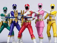 KyuuKyuu Sentai GoGoFive Shodo Super Box of 5 Exclusive Figures