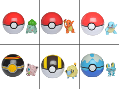 Pokemon Set of 6 Clip 'N' Go Figures