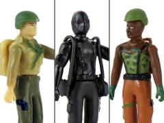 G.I. Joe vs Cobra World's Smallest Set of 3 Micro Action Figures