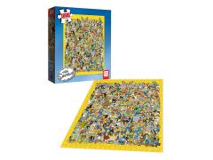 The Simpsons Cast of Thousands 1000-Piece Puzzle