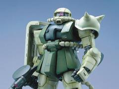 Gundam PG MS-06F Zaku II (Green) Model Kit