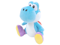 "Super Mario Yoshi 8"" Plush (Light Blue)"