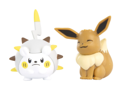 Pokemon Battle Figures Togedemaru & Eevee 2-Pack
