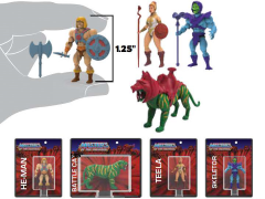 Masters of the Universe World's Smallest Set of 4 Micro Action Figures