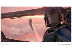 Star Wars Mandalorian Salute Limited Edition Giclee