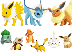 Pokemon Set of 6 Battle Figures