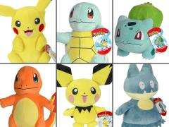 Pokemon Core 8-Inch Plush Set of 6