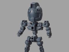 Gundam SDCS Cross Silhouette Frame (Gray)