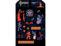 Castlevania Magnet Set