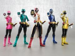 Power Rangers S.H.Figuarts Samurai Metallic Five Pack SDCC 2013 Exclusive