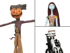 The Nightmare Before Christmas Select Best of Series Wave 2 Set of 3 Figures