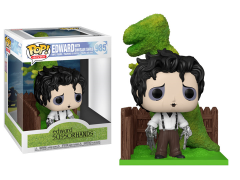 Pop! Deluxe: Edward Scissorhands - Edward with Dinosaur Shrub