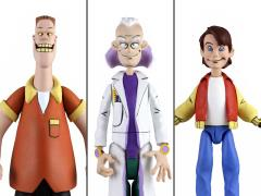 Back to the Future Toony Classics Set of 3 Figures
