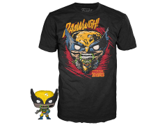 Pocket Pop! and Tee Marvel Zombies - Wolverine