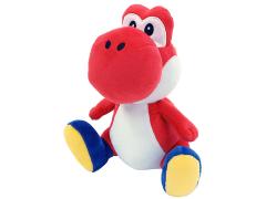 """Super Mario Yoshi 8"""" Plush (Red)"""