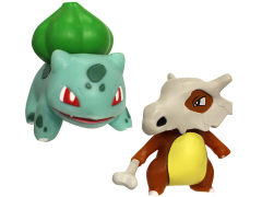 Pokemon Battle Figures Bulbasaur & Cubone 2-Pack