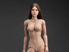 Western Beauty Head Sculpt (Brown) & Female Body 1/6 Scale Set