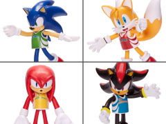 "Sonic The Hedgehog 4"" Basic Wave 3 Set of 4 Bendy Figures"