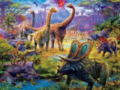 Prehistoria Sauropods 300-Piece Puzzle