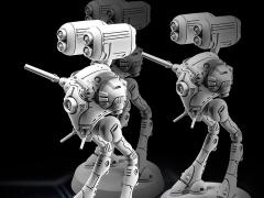Robotech MiniTech MT23 Heavy Missile Battlepod 1/285 Scale Model Kit  (Three-Pack)