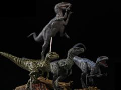 Jurassic Series Tactical Team (Diana) Raptor 1/35 Scale Figure Set