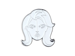 Marvel Invisible Woman Enamel Pin