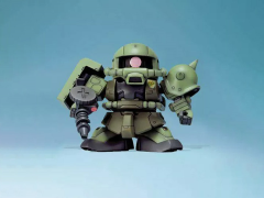 Gundam BB Senshi MS-06F Zaku II Model Kit
