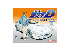 Initial D Ryousuke Takahashi's FC3S RX-7 1/32 Scale Model Kit