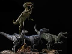 Jurassic Series Tactical Team (Baldwin) Raptor 1/35 Scale Figure Set