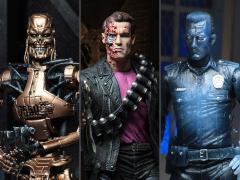 Terminator 2 Kenner Tribute Set of 3 Figures
