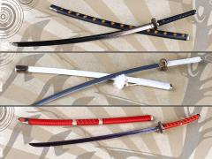 Japanese Katana 1/6 Scale Accessory Set