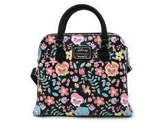 Alice in Wonderland Flowers Crossbody Bag