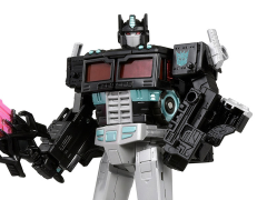 Transformers War for Cybertron: Siege Voyager Nemesis Prime Figure