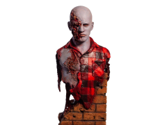 Dawn of the Dead Airport Zombie Bust