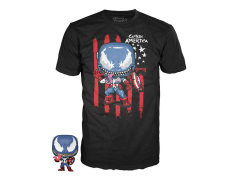 Pocket Pop! and Tee (Youth) Marvel Venom - Venomized Captain America