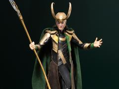 The Avengers ArtFX Loki Statue